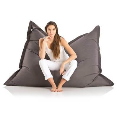 original lazy bag sitzsack xxl 360l riesensitzsack 180x140cm spritzenwasserfest und outdoor
