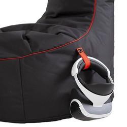Gamewarez Gamer Sitzsack mit Seitentaschen und Schlaufe für Gaming Zubehör
