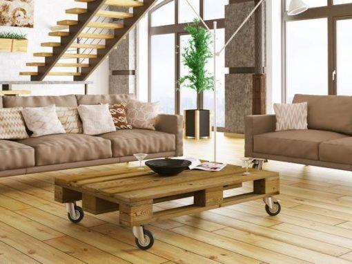 Möbelrollen für Paletten und Interieur